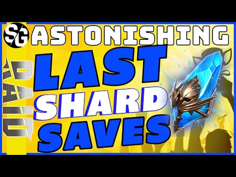 RAID SHADOW LEGENDS | LAST SHARD SAVES!! MAKING ME SWEAT!
