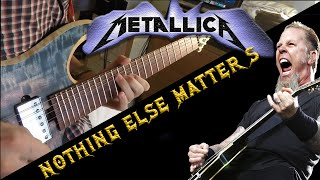 METALLICA - NOTHING ELSE MATTERS GUITAR SOLO COVER - GOPRO 4K!