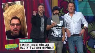 AO VIVO: PÂNICO INVADE INSTAGRAM LIVE DE CANTOR LUCIANO