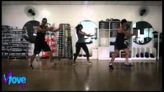 EMPINA A PEÇA DE TRÁS - Kuarto de Empregada - Choreography MOVE fit
