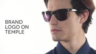 952da9a077e Tom Ford FT0336 LEO 01V Sunglasses Black
