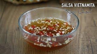 "Auténtica salsa para rollitos vietnamitas ""Nuoc Cham"" ⎜Cocina Vietnamita"