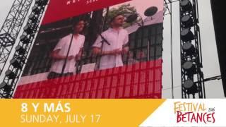 Festival Betances Sunday Main Act: 8 y Más