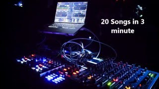 Mix - 20 Songs in 3 minute