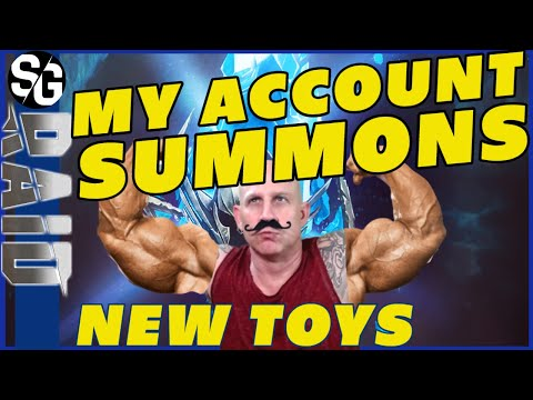 RAID SHADOW LEGENDS | MY ACCOUNT SUMMONS | I GOT A NEW LEGO!