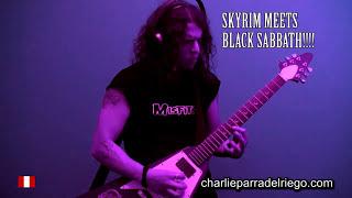 Skyrim meets Black Sabbath - a Heavy Metal Mashup!!!
