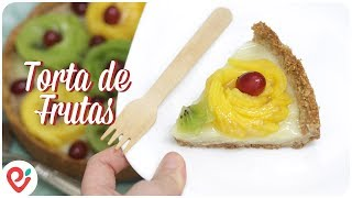 Torta Doce com Frutas (Especial de Primavera)