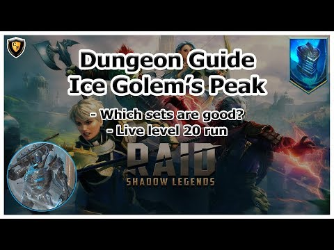 RAID Shadow Legends | Dungeon Guide | Ice Golem's Peak