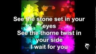 U2 With or Without you Lyrics
