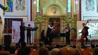 Răzvan Stoica, cântând la o vioară Stradivarius și Kamerata Stradivarius (Olanda)