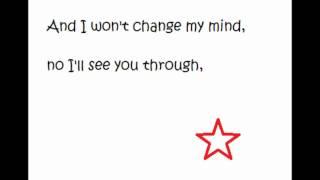 I won't give up - Jana Kramer (Alex Dupre) KARAOKE, onscreen lyrics!