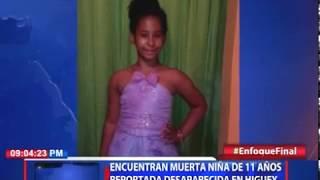 Encuentran muerta niña de 11 años reportada desaparecida en Higüey