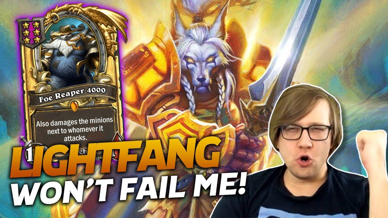 Savjz - Lightfang Won't Fail Me This Time! | Hearthstone Battlegrounds | Savjz