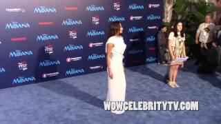 Nicole Scherzinger at the Premiere of Moana