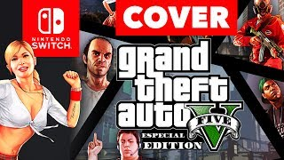 GTA V | Switch Edition (Speed Art Cover)
