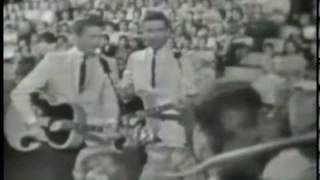 The Everly Brothers - Cathy's Clown (Saturday Night Beech-Nut Show - July 1960)
