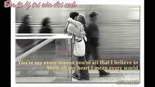 So as long as I live I love you