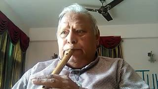 ma mooj vhhupake jiyi aur na sar jhukake jiyo- hamraz 1967- on flute kkbhatnagar