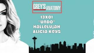 """Grey's Anatomy Soundtrack - """"Hallelujah"""" by Alicia Keys (13x01)"""