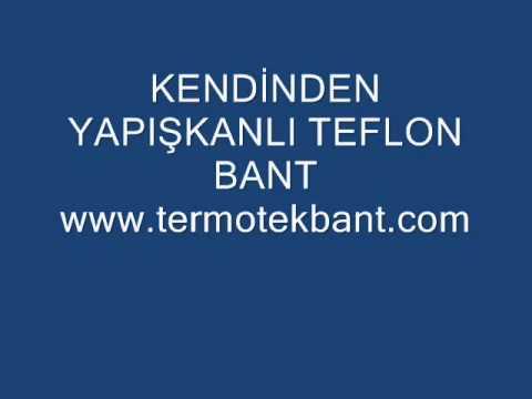 YAPIŞKANLI TEFLON BANT