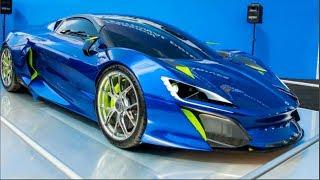 Car and girls : Boreas Project supercar competing Pagani and Koenigsegg