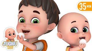 Chunnu Munnu - चुन्नू मुन्नू   Hindi Nursery Rhymes for kids - Hindi Kavita by jugnu kids width=
