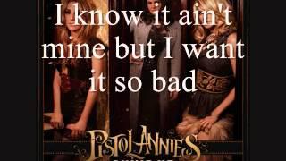 Pistol Annies - I Feel A Sin Comin' On [Lyrics On Screen]