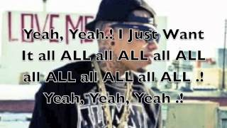 Kid Ink ~ I Just Want It All ~ With Lyrics   Large