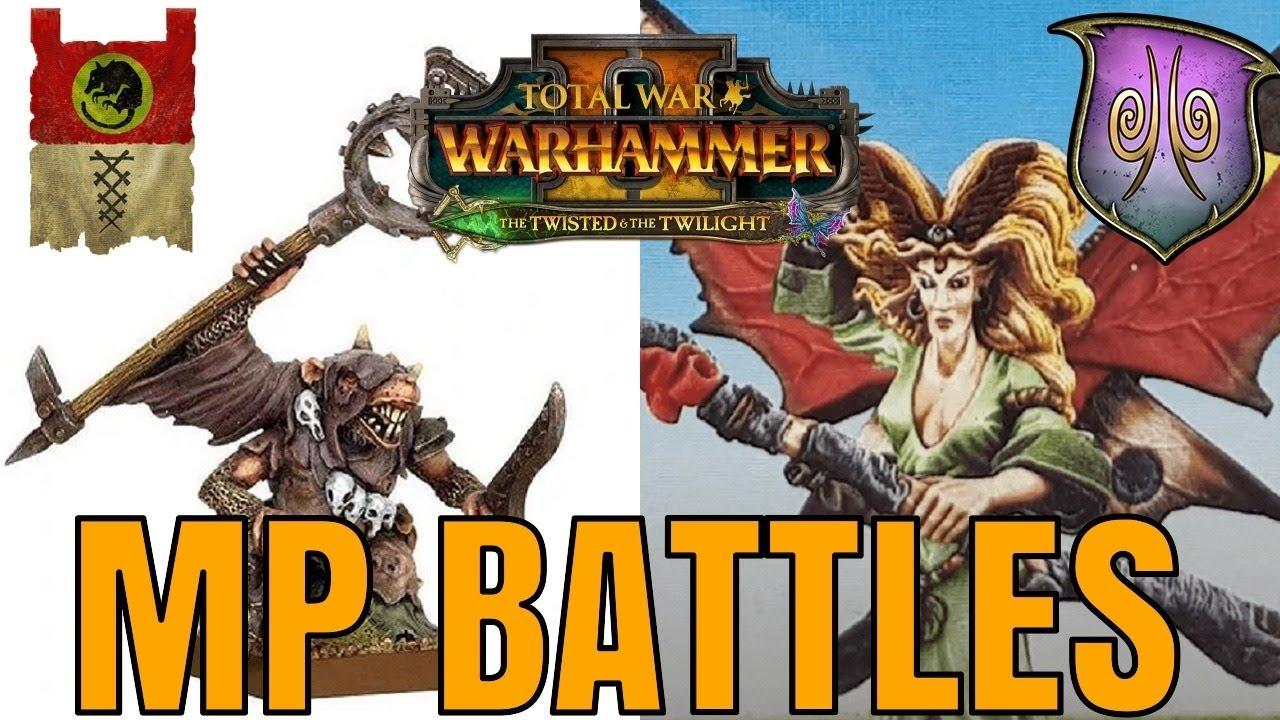 Turin - The Twisted & The Twilight DLC   Multiplayer Battles Stream - Total War Warhammer 2