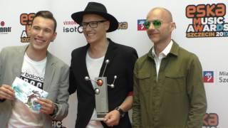 Tom Swoon, Gromee, Puoteck - Eska Music Awards 2017 - Szczecin