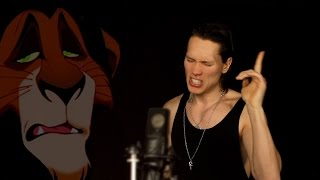 THE LION KING - BE PREPARED (Metal Cover)