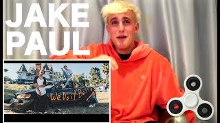 JAKE PAUL REACTS TO TANNER FOX SONG WE DO IT BEST!!
