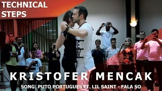 Puto Portugues - Fala So / Kristofer Mencak Kizomba Demo @ Bachaturo Winter Festival 2017