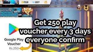 How to get free diamonds in free fire || How to get unlimited Google Play voucher || MG MORE