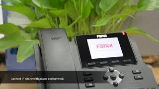 Configure Fanvil IP Phone on 3CX IPPBX Server Credit : Fanvil IP Phone