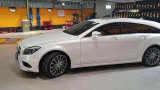 Benz CLS 250d 5 Door Pirelli P Zero 255/35r19 and 285/30R19 Run Flat