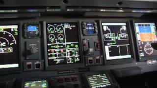 A cabine de comando dos novos aviões da Presidência da República