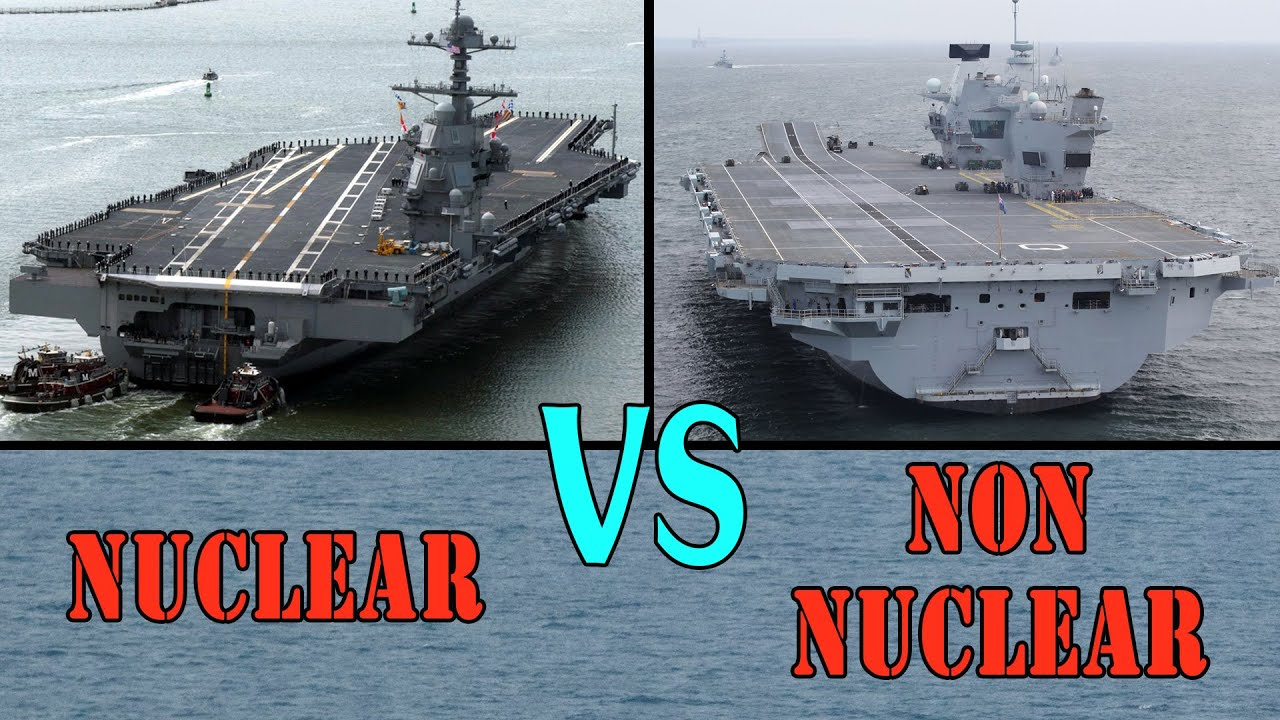 USS Gerald R Ford Vs HMS Queen Elizabeth