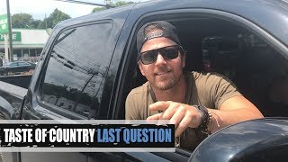 Kip Moore Has Been In a Cop Car, TWICE! - Last Question