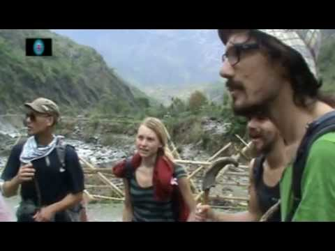 With Foreign Trekkers