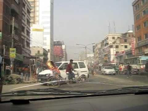 Bangladesh Dhaka trafic 2 of 3