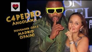 C4PEDRO sings improvised in Angolana event - Madrid (Spain) 2013
