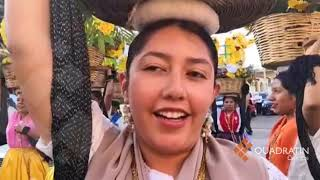 Desborda alegría primer convite de Guelaguetza 2018
