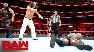 """Woken"" Matt Hardy & Bray Wyatt vs. Titus Worldwide - Tag Team Eliminator Match: Raw, April 9, 2018"