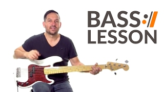 Look to the Son - Hillsong Worship // Bass Tutorials