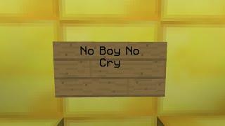 Naruto Noteblock Song - No Boy No Cry