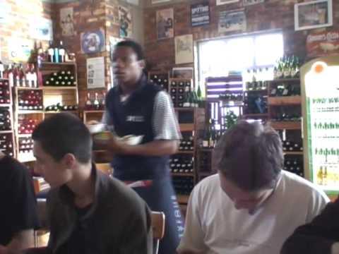 Port Elizabeth – obiad