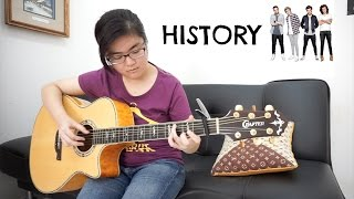 (One Direction) History - Josephine Alexandra | Fingerstyle Guitar Cover
