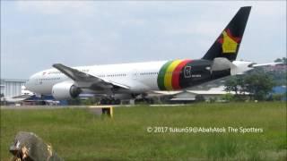 Zimbabwe Airways   Boeing 777-200   9M-MRQ