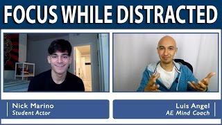 🔥 Focus While Distracted During Memory Training | Luis Angel, Memory Master Champion | Mindset